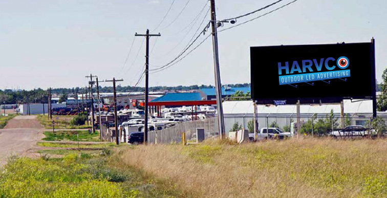 Harvco billboard